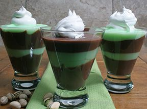 Chocolate Layered Pistachio Dessert