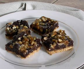 Caramel Pecan Bars Recipe