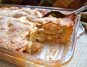 Cinnamon Apple Cobbler