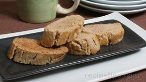 Cinnamon Sugar Biscotti Recipe