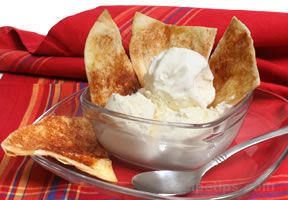 Cinnamon Tortilla Crisps Recipe