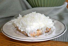 Coconut and Cream Dessert