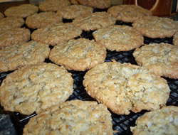 coconut and oatmeal cookies Recipe