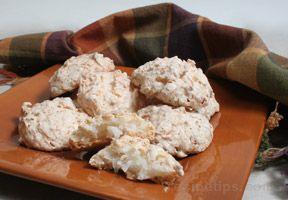 coconut meringue bites Recipe