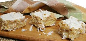 Coconut Pineapple Bars Recipe