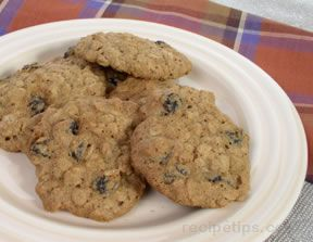 Oatmeal Raisin CookiesnbspRecipe