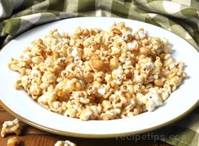 baked caramel corn Recipe