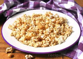 microwaved crunchy caramel corn Recipe