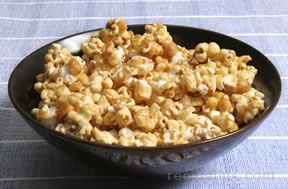 homemade cracker jacks with peanuts Recipe
