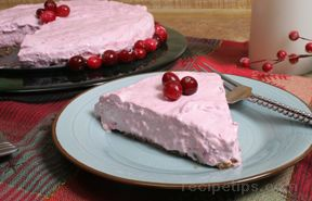 Cranberry Whipped Pie