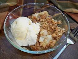 Crispy Crumble Apple Crisp