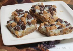 double chip coconut bars Recipe