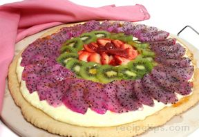 Dragon Fruit Pizza