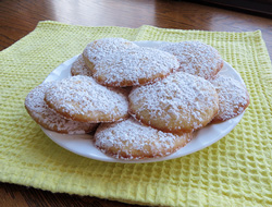 Dusted Lemonade Cookies