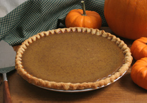 Fall Harvest Pumpkin Pie
