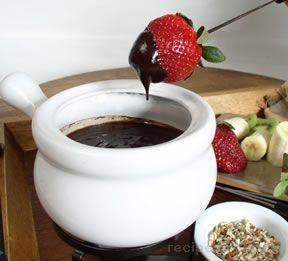 Chocolate Coffee Fondue