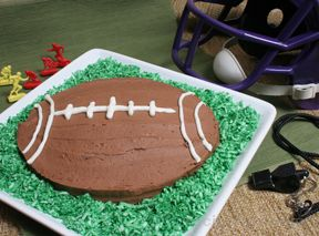 Football Cake Recipe Recipetips Com