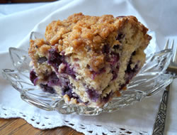 Fresh Blueberry Coffee Cake Recipe