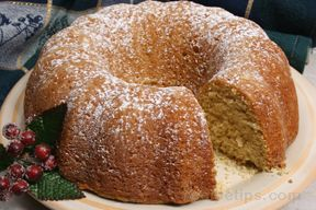 Ginger Pound Cake Recipe