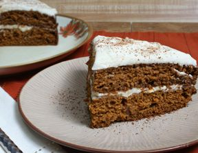 Gingerbread Pumpkin Cake