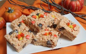 halloween crispy treats Recipe