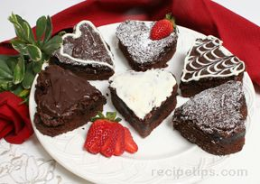 Easy Cake Brownies