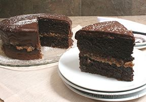 heavenly chocolate cake Recipe