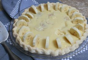Homemade Banana Cream Pie Recipe