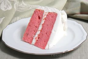 Homemade Strawberry Cake