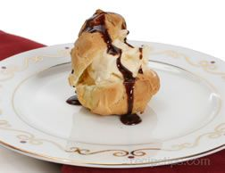 Ice Cream Puffs Recipe