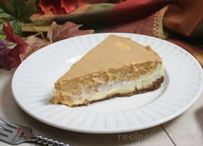 layered pumpkin cheesecake Recipe