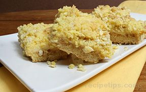 Lemon Bars with Crumb Topping Recipe