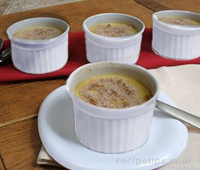 Lemon Ginger Creme Brulee