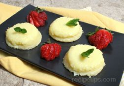 Lemon Sponge Cups Recipe