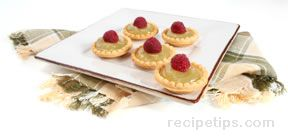 tartlets with lime curd Recipe