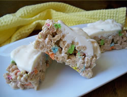 lucky charm snack bars Recipe