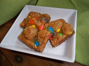 M amp M Caramel Bars Recipe