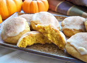 Maple Glazed Pumpkin Cookies Recipe