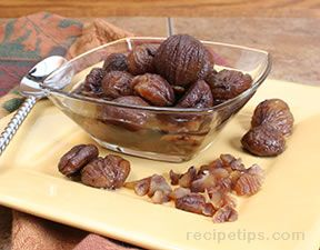 Marrons Glacés Chestnut Sauce Recipe