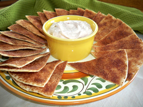 Mexican Cinnamon Chips and Dip