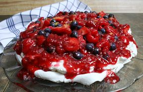 Mixed Berry Pavlova Recipe