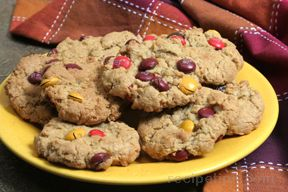 Oatmeal M amp M Cookies Recipe