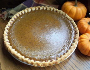 Moms Famous Pumpkin Pie