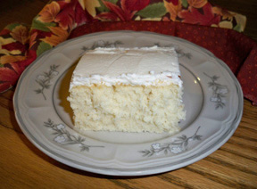 Moms White Cake Recipe