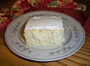 Moms White Cake