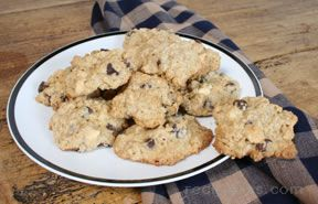 Oatmeal Double Chip Cookie Recipe