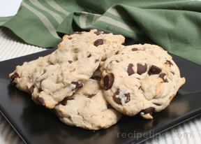 Oatmeal Yogurt Chocolate Chip Cookies