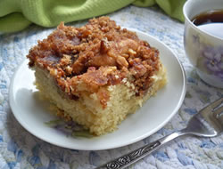 Overnight Cinnamon Coffee Cake