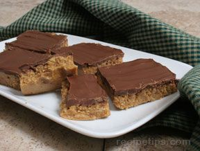 peanut butter graham cracker bars Recipe