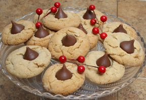 Peanut Blossom Kiss Cookies Recipe